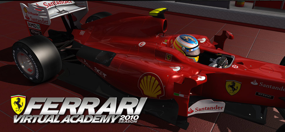 Ferrari Virtual Academy 2010 season